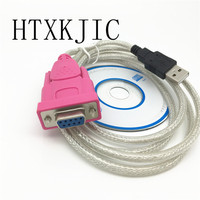 Usb Rs232 Female Cable USB To DB9 Female Serial Port Holes 9 Holes COM Computer Cable