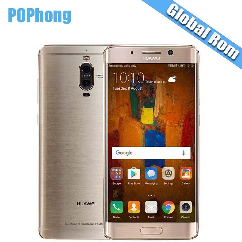 Global rom huawei коврики 9 Pro 4G/6G RAM 6 4G B/128 ГБ Встроенная память Android 7,0 смартфон KIRIN 960 Octa Core 5,5 дюймов Dual SIM Quick Charge