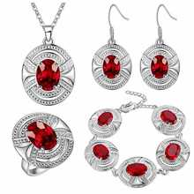 Thick silver jewelry set speed sell through the explosion of United States and t