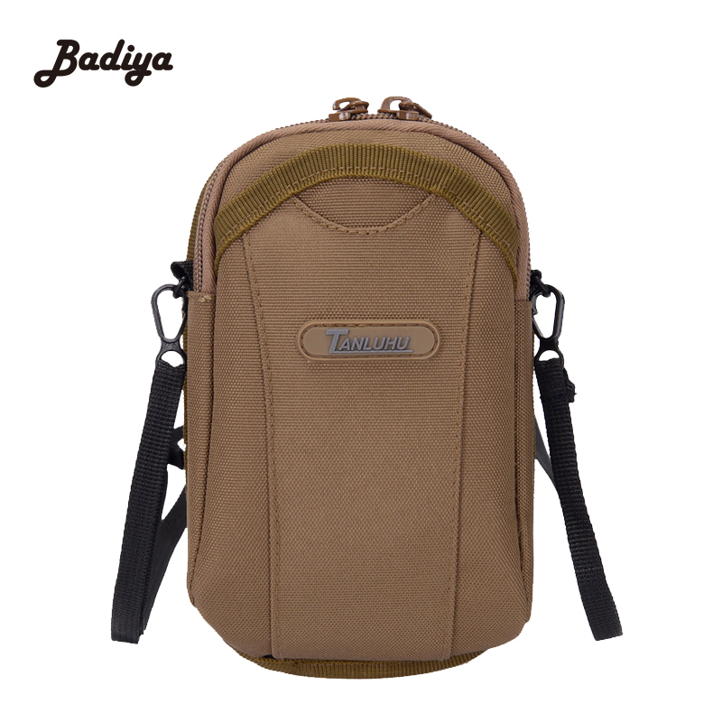 New Design Portable Fanny Pack 8 Colors Men Women Waist Bags Water Proof Nylon Casual Bags Solid Shopping Bag