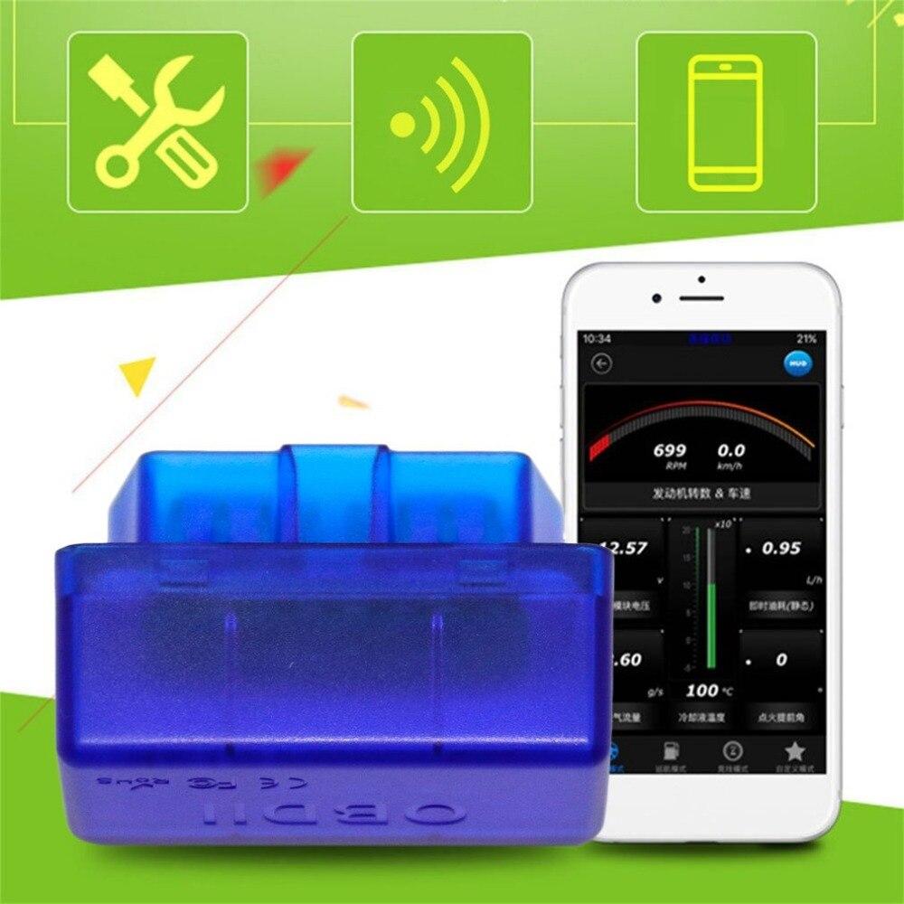 Практический OBDII B02 V2.1 16 Булавки Интерфейс Bluetooth 2.0 автомобилей диагностический сканер ST чип Поддержка Android для Оконные рамы