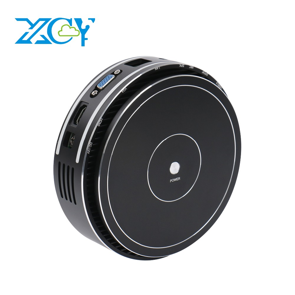 XCY X36 Fanless Mini PC Intel Core I7 5550U I5 5250U I3 4025U Windows 10 HTPC HDMI VGA SPDIF 4xUSB WiFi Gigabit Ethernet