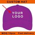 E116-11 crianças tamanho personalizar o design cap logotipo bordado boné de beisebol do algodão do esporte de metal perto curva viseira chapéu feito sob encomenda moq pequeno