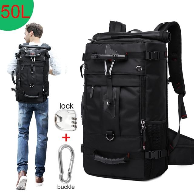 Huge Capacity 50L Waterproof Travel Backpack