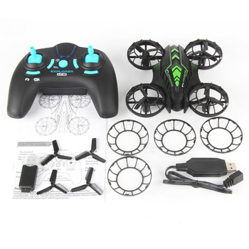 JXD 515V 2.4GHz 4CH 6-axis Gyro Mini RC Drone with Camera 0.3MP UAV RTF /Altitude Hold/Headless Mode RC Toys for Kids Quadcopter