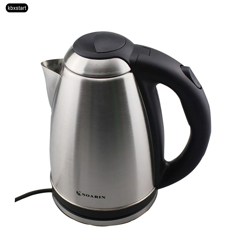 Hot Kettle Portable Water Heater for Tea Coffee Stainless Steel Large Capacity Vehicle for Family & Dorm Room 360 Degree Rotatio