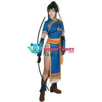 Fire Emblem Heroes Lyn Cosplay Costume Woman Cheongsam
