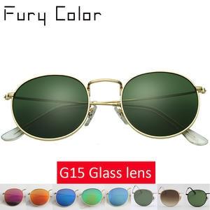 5a4c3d0da4 FURY COLOR Retro Round Sun glasses sunglasses men women