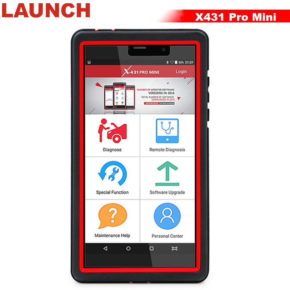 LAUNCH X431 Pro Mini Full Systems Auto Diagnostic Tool Support WiFi/Bluetooth ECU Diagnostic X 431 Pro mini 2 Year Free Update ...