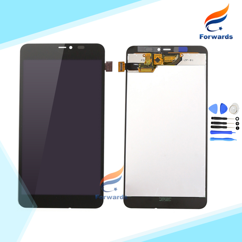 For Microsoft Nokia Lumia 640XL 640 XL Lcd Screen Display with Touch Digitizer + Tools Assembly 5.7 Black 1 piece free shipping sweeterella сладкое настроение шоколадные конфеты 125 г