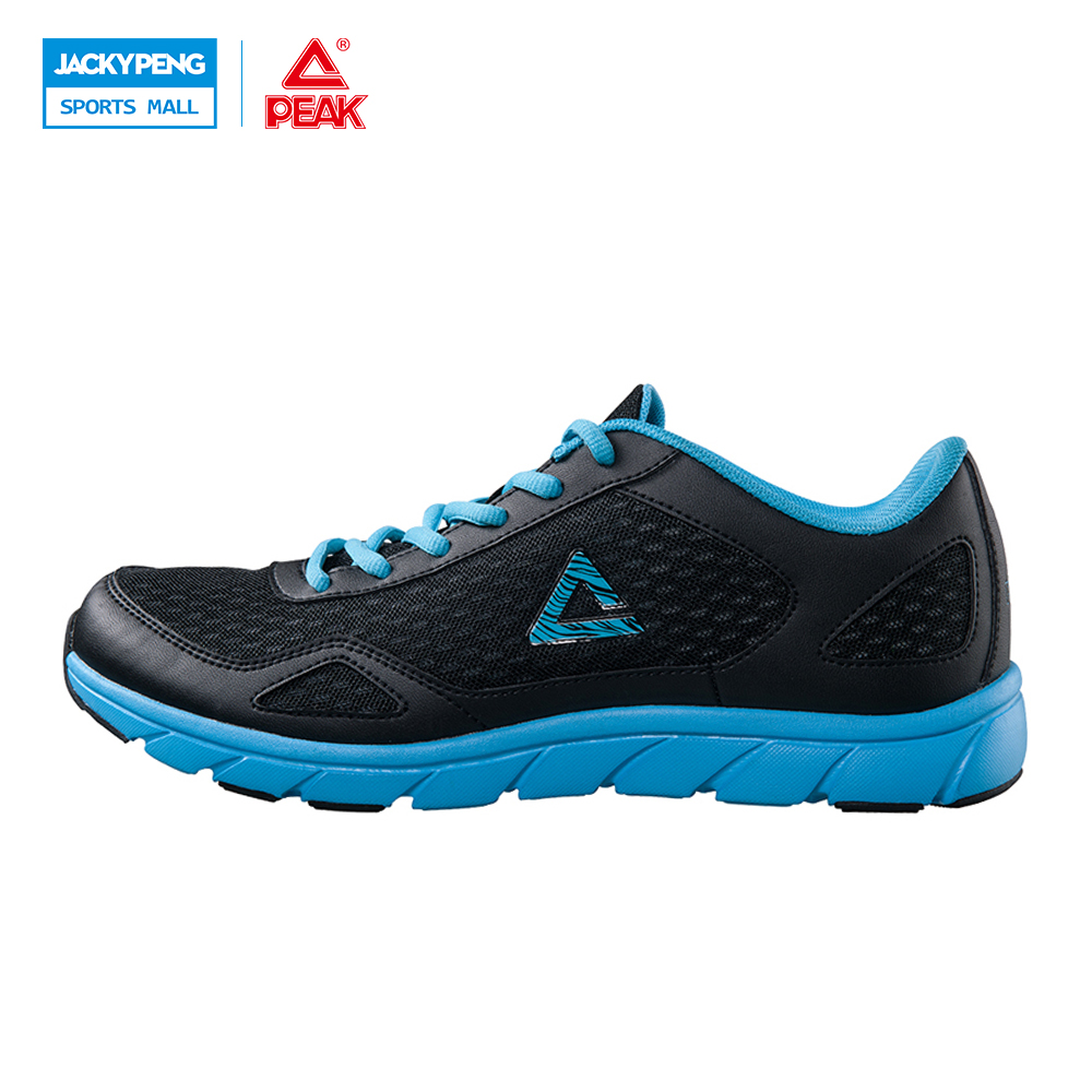 PEAK SPORT New Ultra-Light Men Simple Outdoor Sports Men Sneakers Summer Breathable Air Mesh Running Shoes Cool