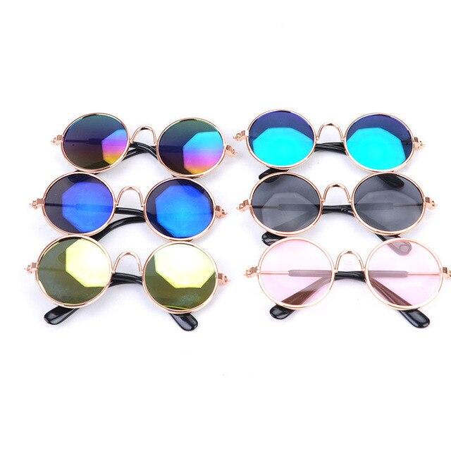 Собака кошка очки для домашних животных маленькая собака глаз носить собака солнцезащитные очки фото реквизит аксессуары для домашних животных