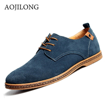 2016 New Men Casual Shoes Fashion Breathable Men's Oxford Shoes Lace Up Corduroy Footwear