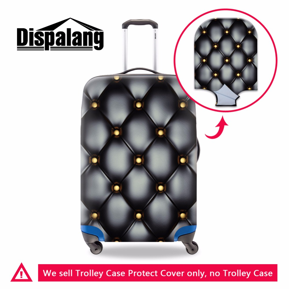 Stylish Trolley Luggage Covers For Women Adults Spandex Luggage Protective Covers Cool Suitcase Cover Luggage Cover Bag For Lady