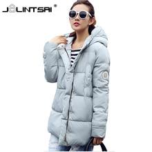 Wadded Jacket Female 2017 New Women's Winter Jacket Down Cotton Hooded Coat Slim Parkas Ladies Jackets And Coats Plus Size XXL