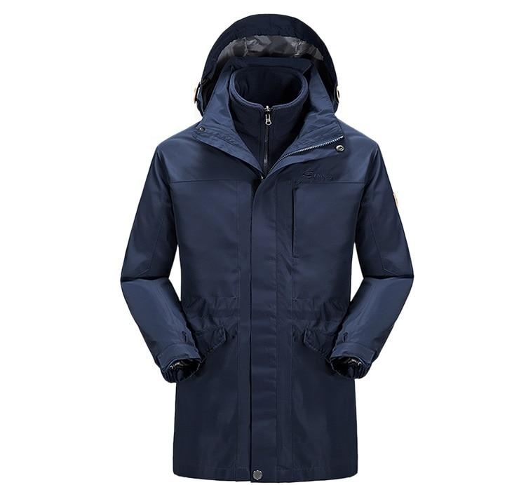 Prix pour Nouveaux amateurs longueur épaisseur veste en plein air hommes étanche ski vêtements pour femmes polaire coupe - vent randonnée / cmaping sport veste