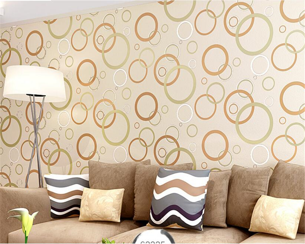 beibehang papel de parede Circle Large Mural Living Room Background Wallpaper Mural Non woven Fabric 3d wallpaper for walls 3 d beibehang custom papel de parede 3d photo wallpaper living room bathroom floor stickers waterproof self adhesive wallpaper mural
