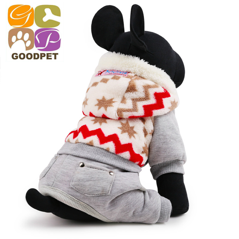 Brand Dog Clothes Christmas Snow Pattern Tactic Schnauzer Dog Winter Pets Clothing Size ,XS S,M,L GP150910-16