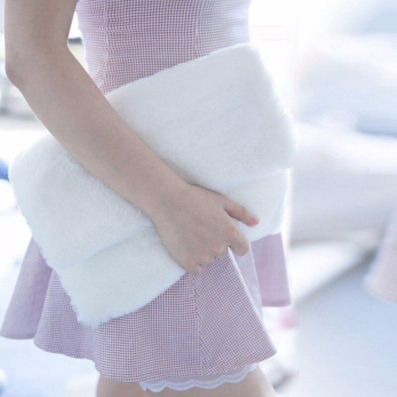 embrayage sac bolsas feminina Abacamento / Decoração : Pele / Pêlo