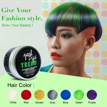 Hot PURC  disposable color hair coloring cream color hair dyed hair wax new product for crazy party carnival