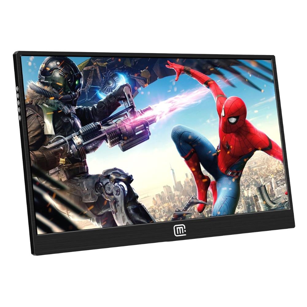 Brillant 15,6 Zoll 1080 P Raspberry Pi Touchscreen-1920*1080 Fhd Ips Display-usb/hdmi Video Eingang Tragbare Monitor Ps3 Ps4 Gaming Bildschirm