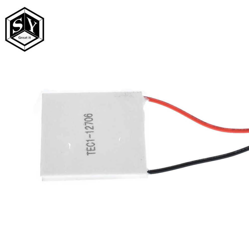Image 2 - 50PCS 100% New the cheapest price TEC1 12706 TEC 1 12706 57.2W 15.2V TEC Thermoelectric Cooler Peltier (TEC1 12706)-in Integrated Circuits from Electronic Components & Supplies