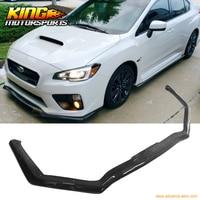 Fit For 2015 2018 Subaru WRX STI HT Style Front Bumper Lip Carbon Fiber