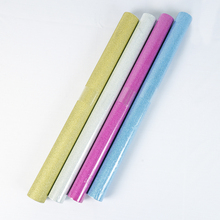 DIY Glitter Furniture sticker 45cm*5m luxury self adhesive wall stickers gift box package diy book kraft paper