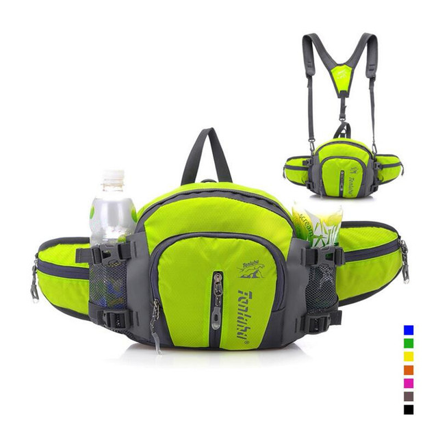 Multifunction Waist Packs Waterproof Polyester Men&Woman Travel Casual Shoulder Messenger Bags Z79