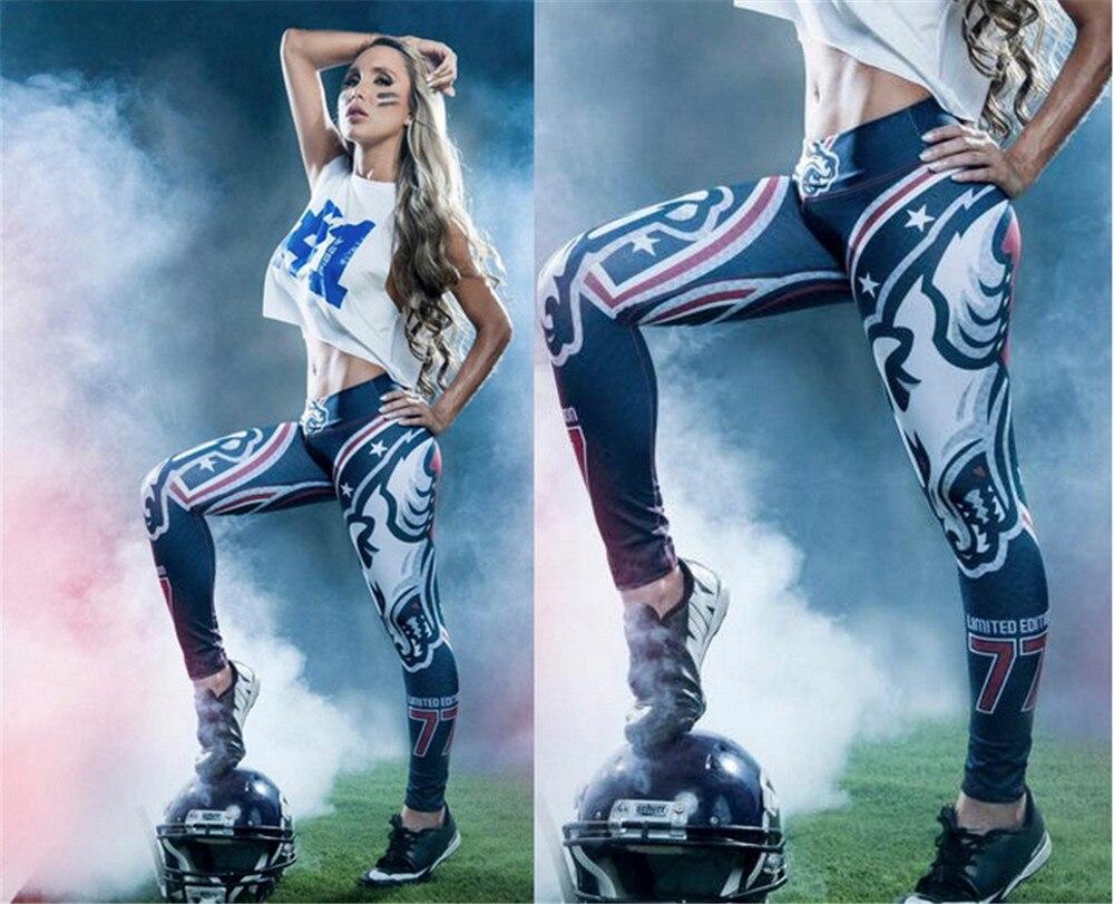Hoge Taille Dames Sport Leggings Slanke Gym Sportkleding Fitness - Sportkleding en accessoires - Foto 5
