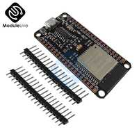 ESP32 ESP32S CH340G Development Board 2 4GHz WiFi+Bluetooth Ultra-Low Power  Consumption Dual Core ESP-32 ESP-32S With Pins