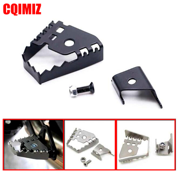 CNC Pedal Extender Pad Enlarge Extension Rear Foot Peg Brake Lever For BMW F800GS F700GS F650GS R1200GS R1150GS R 1150/1200 GS image