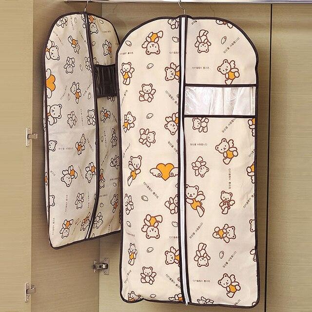 f36268989 Bolsa de polvo para guardar ropa traje abrigo Protector de polvo armario  bolsa de almacenamiento para