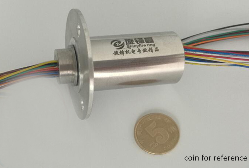 Metal Slip Ring Diameter 20mm 12/18/24/30/36 Circuits Electronic Conductive Slip Rings 5A/Ring Rotray Joint Collect Slip Rings