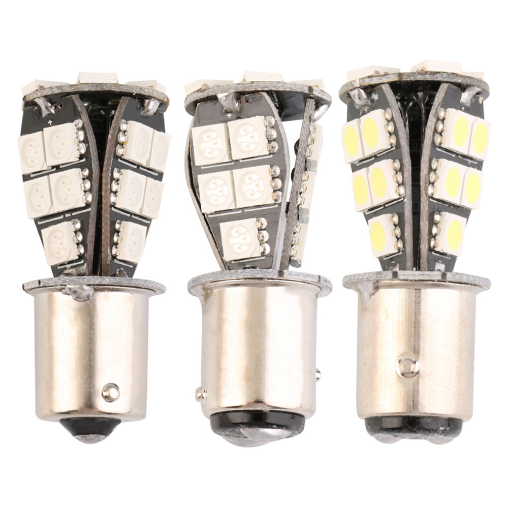 New 1157 21 SMD BA15d led car bulbs canbus No Error Lamp External Lights Car Light Source 12V Red White Yellow hot selling direct fit for kia sportage 11 15 led number license plate light lamps 18 smd high quality canbus no error car lights lamp