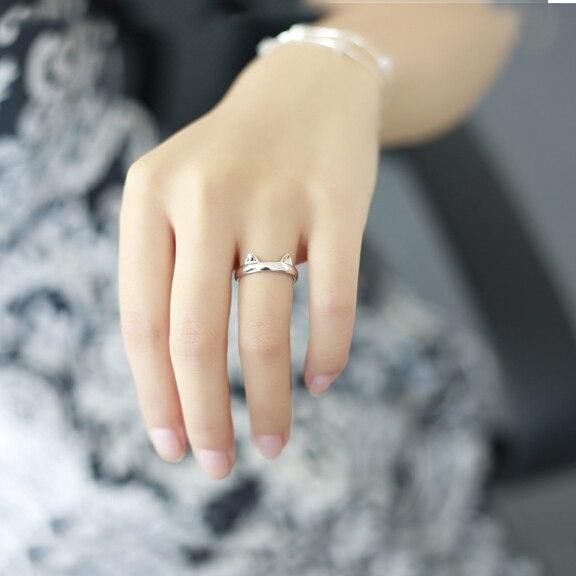 Totoro Lovely Cat Open Ring