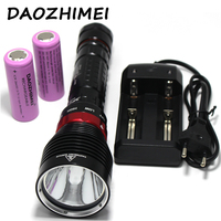 LED Diving Flashlight 5000 Lumen 10W 3 Mode XM L2 Waterproof Torch 100M Underwater LED Flash Light Lamp Lantern Torch