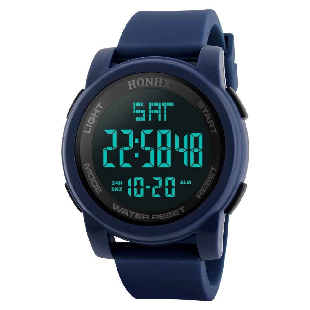 #5001 Man Analog Digital Military Army Sport LED Waterproof Wrist Watch