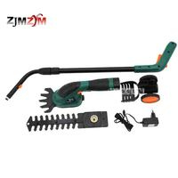 Multi function Rechargeable Grass Cutting / Pruning Machine Electric Lawn Mower Hedge Trimmer ET1502 1000 / MIN 7.2V 3 5 Hours