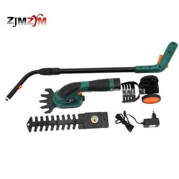 Multi-funktion Wiederaufladbare Gras Schneiden/Beschneiden Maschine Elektrische Rasenmäher Hedge Trimmer ET1502 1000/MIN 7,2 V 3-5 stunden
