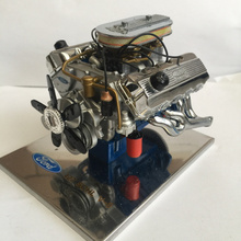 Engine Model Proportion TOY 1:6 Ford Fiesta 427sohc Alloy Simulation Automobile Compressor Model Static Model Collection Limited