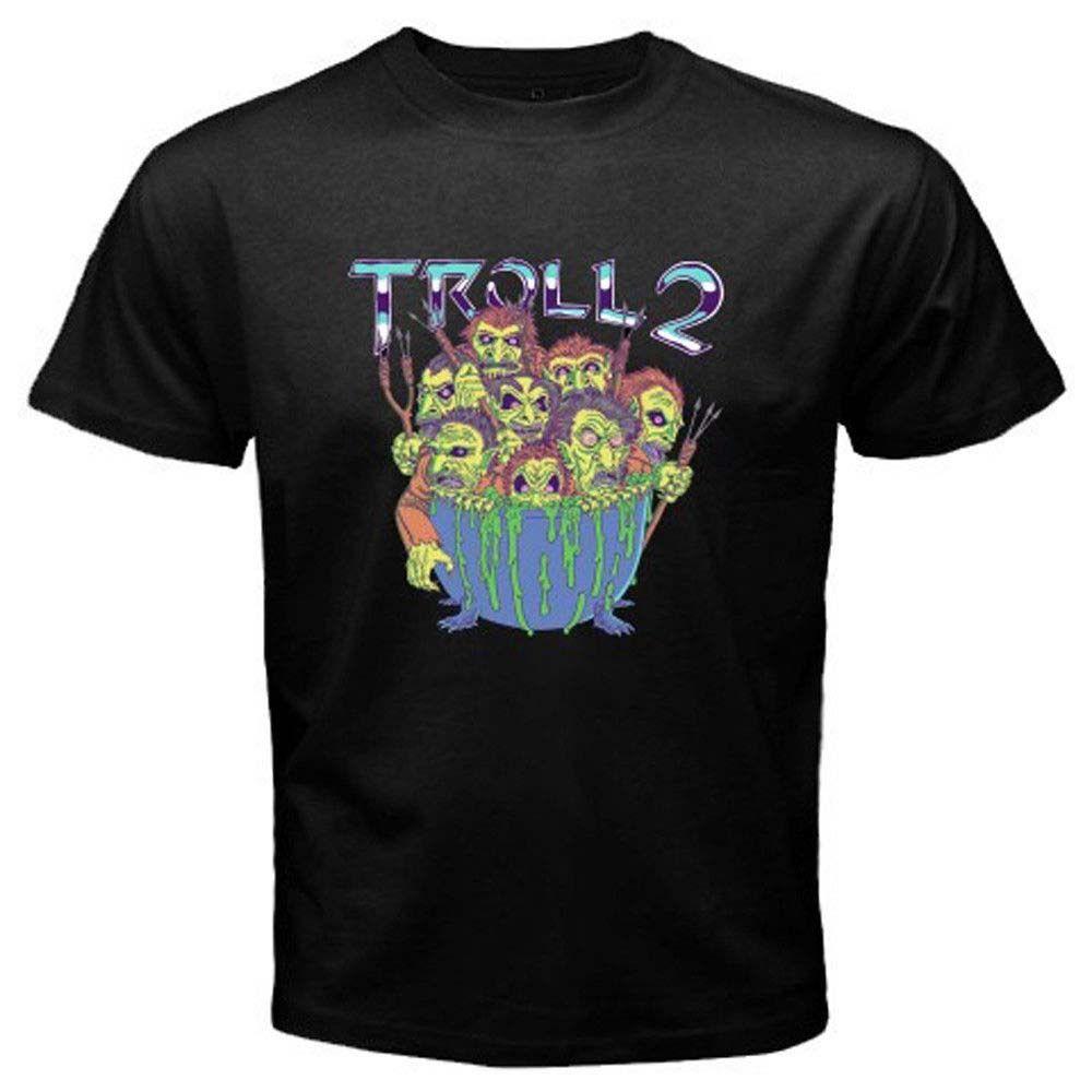 Troll 2 Horror Movie Tee Mens Black T-Shirt Size S to 3XL