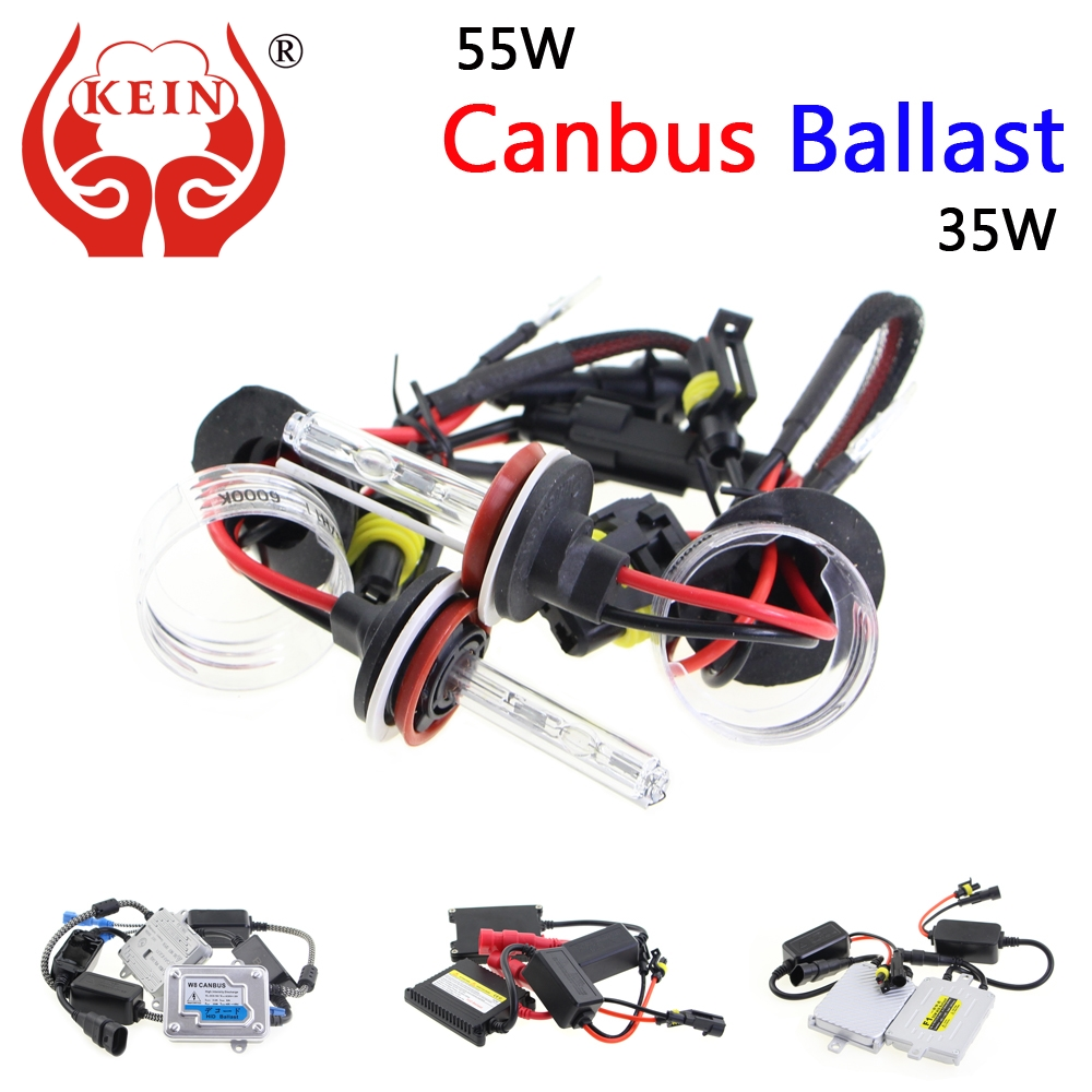 Canbus car light source 35W55W HID Xenon Kit H3 H4 H1 H8 H7 H11 H9 9005 HB3 HB4 Auto Hernia lights Xenon lamp for car headlight