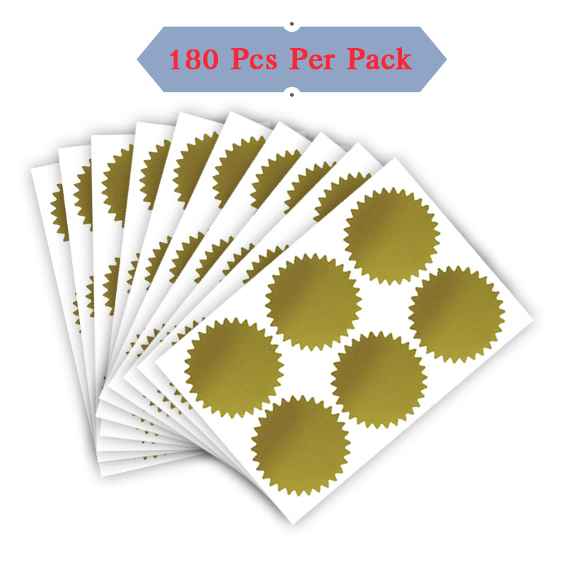 20mm White Star Stickers Self Adhesive Waterproof Vinyl Labels pack of 500