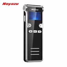 Noyazu 906 16G with 16G memory capability Portable Voice Recorder With Microphone Telephone Recording Recorder Mp3 player