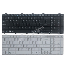 Novo teclado dos eua para fujitsu lifebook ah530 ah531 nh751 a530 a531 preto inglês teclado do portátil