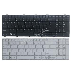 Image 1 - 新usキーボード富士通lifebook AH530 AH531 NH751 A530 A531黒英語ノートパソコンのキーボード