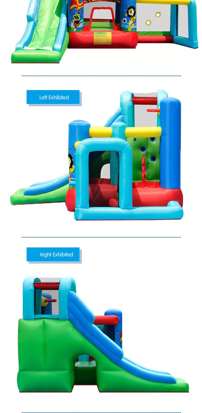 HTB1qznHPFXXXXXbXXXXq6xXFXXXg - Mr. Fun Animal World Cup Inflatable Trampoline Bounce House with Kids Slide Playhouse with Blower