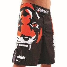 2018 Mens Tiger Muay Thai MMA Shorts Combat Sports Boxing Pants Kick