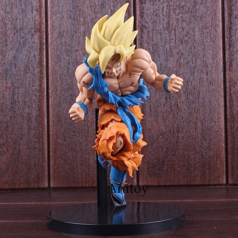 JUMP 50th Anniversary Dragon Ball Z Super Saiyan Goku PVC Son Gokou Figure Collectible Model Toy 22cm 1